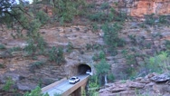 Zion National Park , Sept 2016, Tunnel enternce Stock Footage