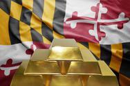 Maryland gold reserves Stock Photos