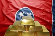 Tennessee gold reserves Stock Photos