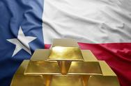 Texas gold reserves Stock Photos