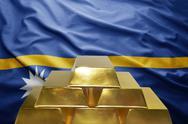 Nauru gold reserves Stock Photos