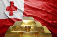 Tonga gold reserves Stock Photos