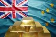 Tuvalu gold reserves Stock Photos