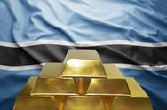 Botswana gold reserves Stock Photos