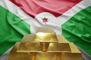 Burundi gold reserves Stock Photos