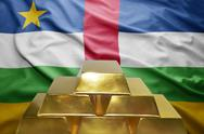 Central african republic gold reserves Stock Photos