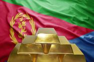 Eritrean gold reserves Stock Photos