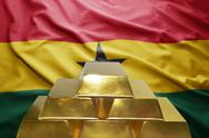 Ghanaian gold reserves Stock Photos