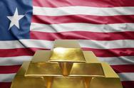 Liberian gold reserves Stock Photos