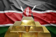 Kenyan gold reserves Stock Photos