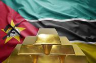 Mozambican gold reserves Stock Photos