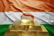 Niger gold reserves Stock Photos