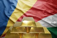 Seychelles gold reserves Stock Photos