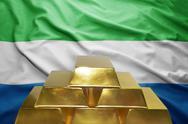 Sierra leone gold reserves Stock Photos