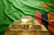 Zambian gold reserves Stock Photos