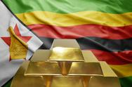 Zimbabwean gold reserves Stock Photos