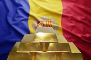 Andorran gold reserves Stock Photos