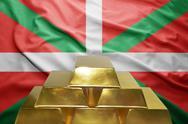 Basque country gold reserves Stock Photos