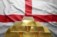English gold reserves Stock Photos