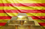 Catalan gold reserves Stock Photos