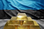 Estonian gold reserves Stock Photos