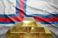 Faroe islands gold reserves Stock Photos