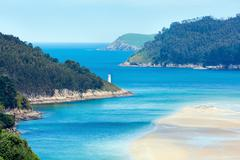 Porto Do Barqueiro, Galicia, Spain. Stock Photos