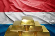 Luxembourg gold reserves Stock Photos