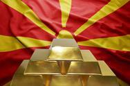 Macedonian gold reserves Stock Photos