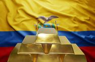 Ecuadorian gold reserves Stock Photos