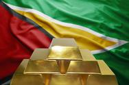 Guyanese gold reserves Stock Photos