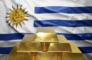 Uruguayan gold reserves Stock Photos