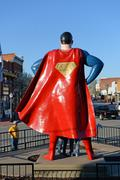 Metropolis Illinois Home of Superman Kuvituskuvat
