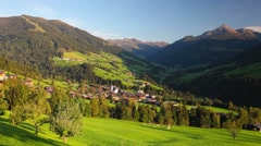 The alpine village of Alpbach and the Alpbachtal Stock Footage