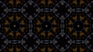Abstract colorful kaleidoscopic loopable motion graphic background Stock Footage