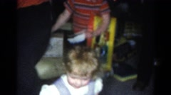1962: shoot off and young ins' birthday party CATSKILL, NEW YORK Stock Footage