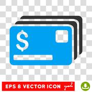Credit Cards Vector Icon Piirros