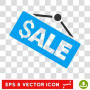 Sale Signboard Vector Icon Stock Illustration