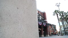 At&T Park Front Entrance Stock Footage