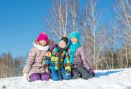 Winter activity Stock Photos