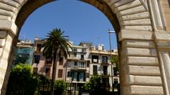 Lonja de Palma de Mallorca, Spain Stock Footage