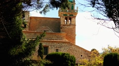 Carthusian Monastery, Valldemossa, Majorca, Spain Stock Footage