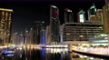 8K Dubai Marina night time lapse, United Arab Emirates 4k or 4k+ Resolution
