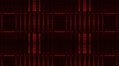 Animation Background Red Vj Loop Hd Stock Footage