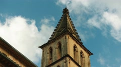 Church of Saint Bartholomew in Soller, Mallorca Stock Footage