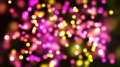 HD Loopable Background with nice pink bokeh Stock Footage