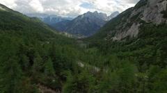 Triglav National Park.Kranjska Gora.Slovenia Stock Footage
