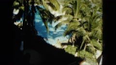 1962: outdoor greenery garden beautiful lush beauty MEXICO Stock Footage