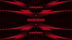 Vj Loops Red HD Club Visual Animation Background Stock Footage