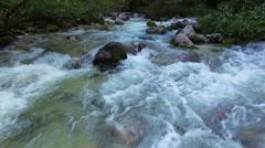 Mountine river Savica, Slovenia Stock Footage